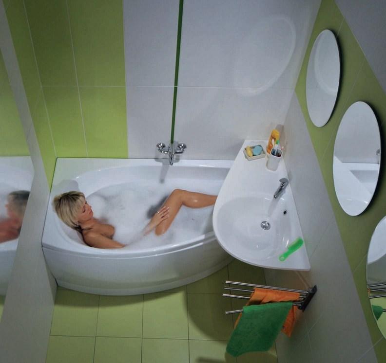 Проекты маленькой ванной комнаты фото